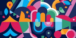 Flux Visual Communication secondary branding pattern design Adelaide