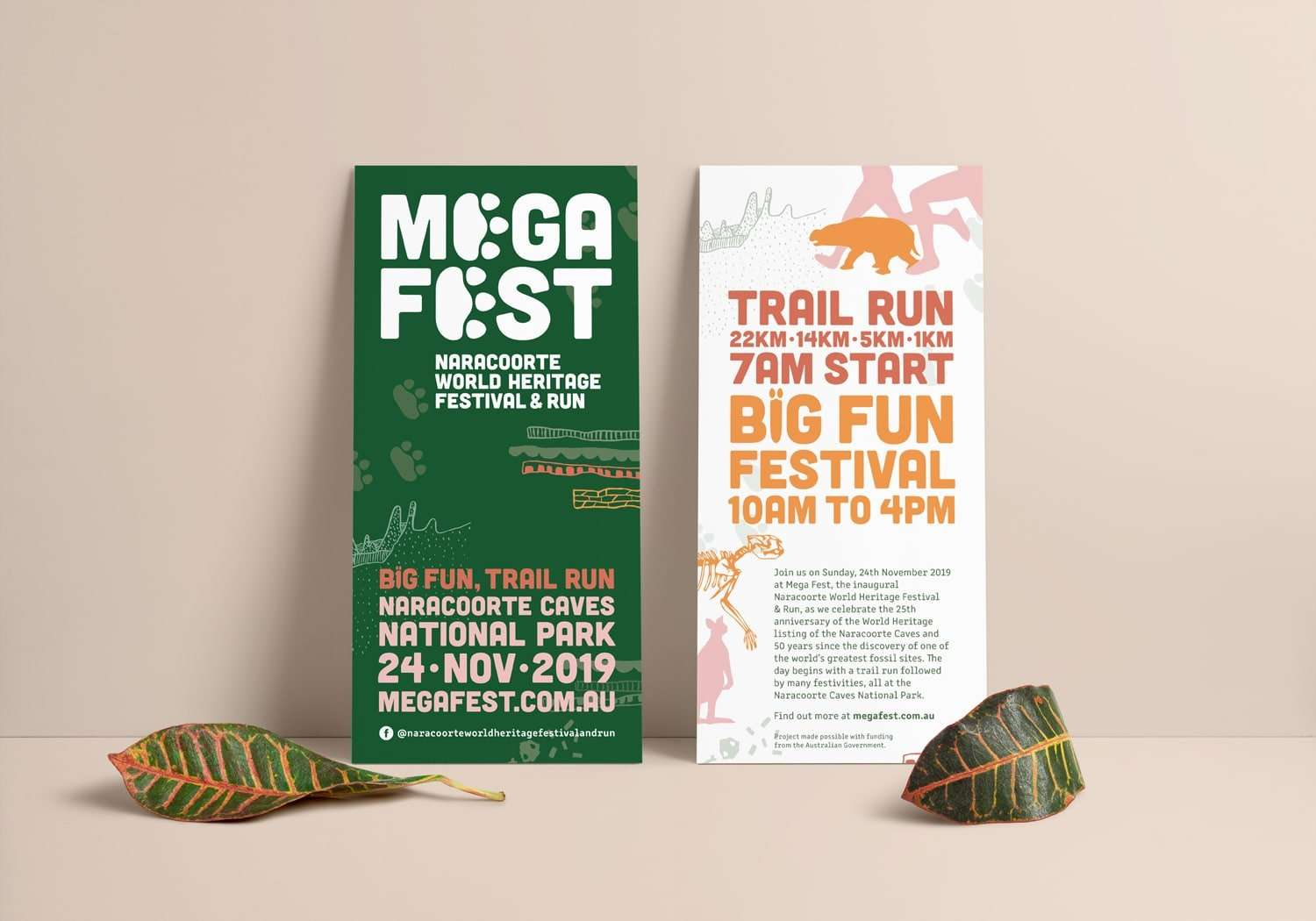 Mega Fest DL flyer designed by Flux Visual Communication