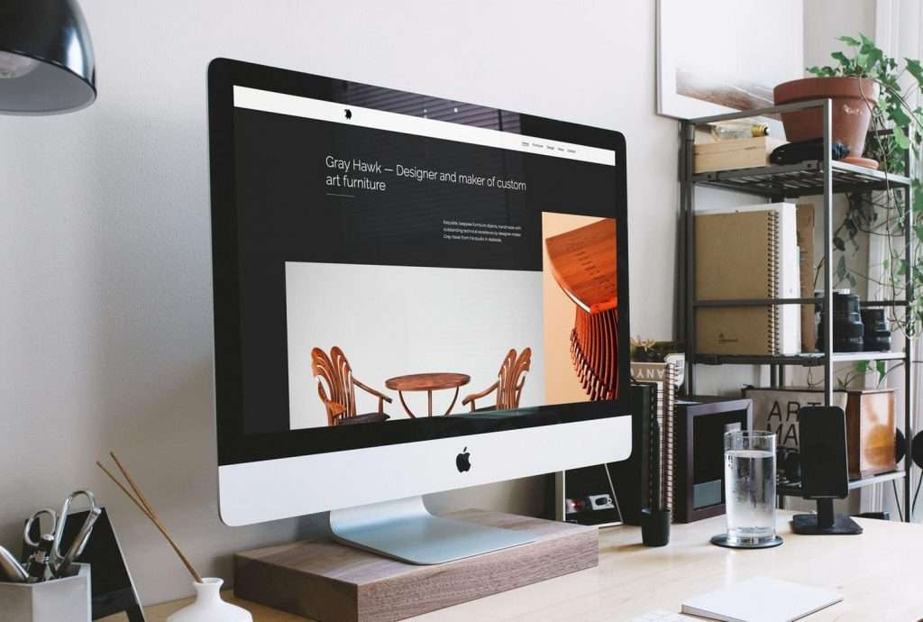Grey Hawk Design website by Flux Visual Communication