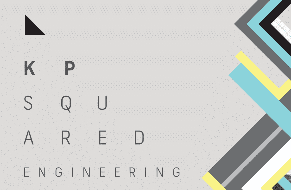 KP Squared Engineering logo design by Flux Visual Communication, Adelaide
