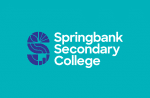 Springbank Secondary College brand design by Flux Visual Communication, Adelaide