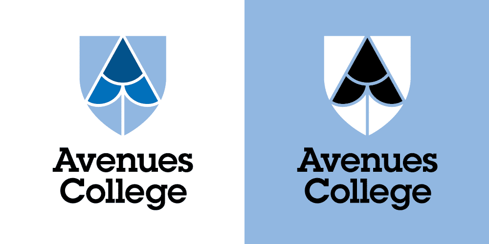 Avenues College logo design by Flux Visual Communication