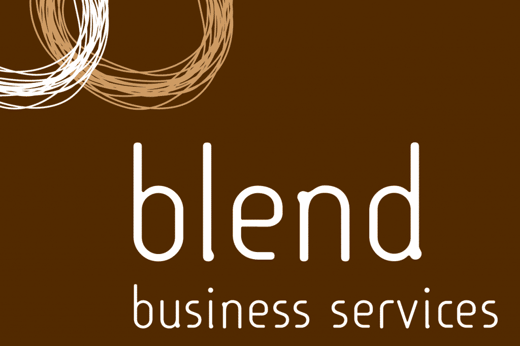 Blend Business Services logo design by Flux Visual Communication