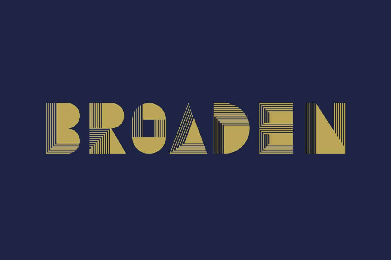 Logo design for Adelaide Home Builder Broaden by Flux Visual Communication