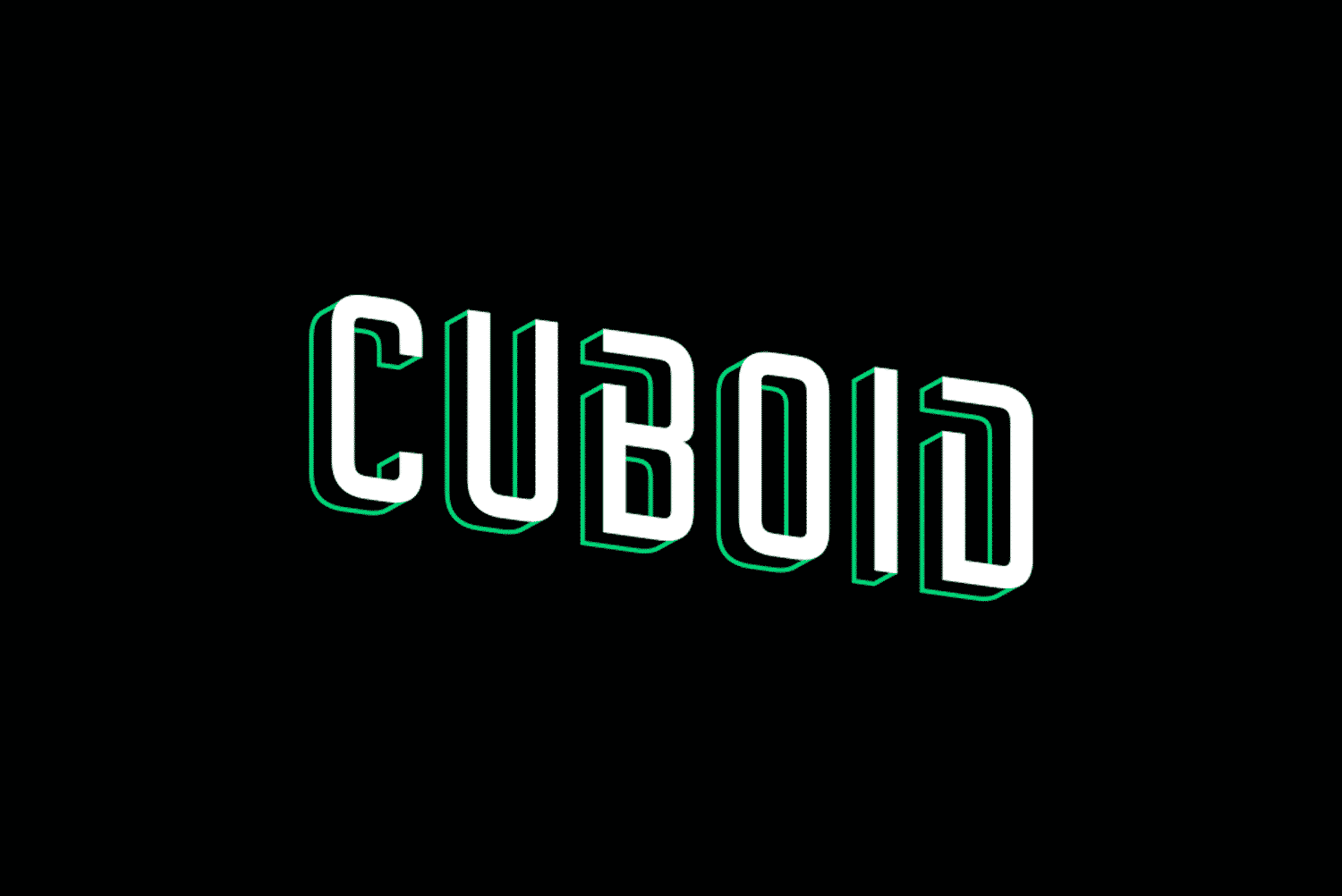 Cuboid home theatre logo design by Flux Visual Communication, Adelaide