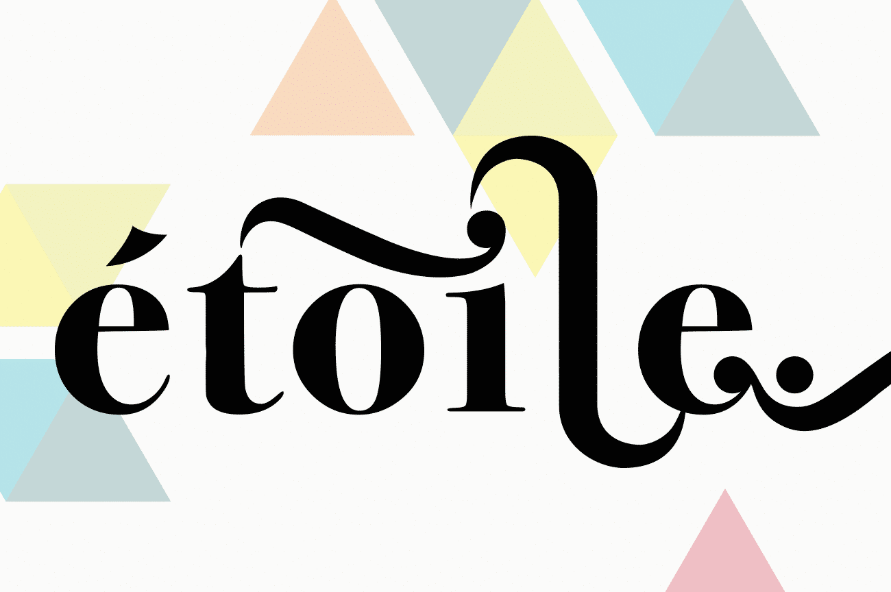 Logo design for Etoile Music Productions by Flux Visual Communication