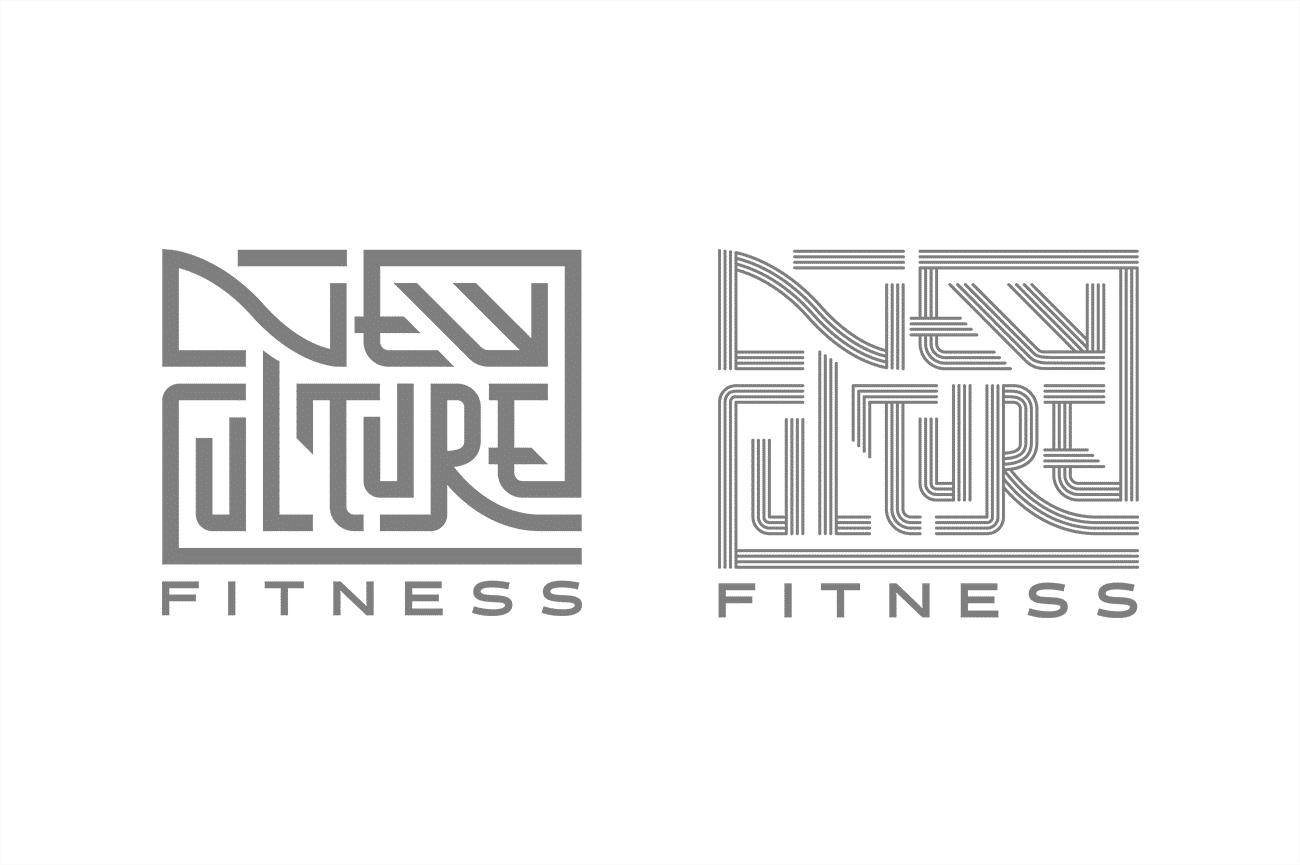 Logo design for New Culture Fitness by Flux Visual Communication