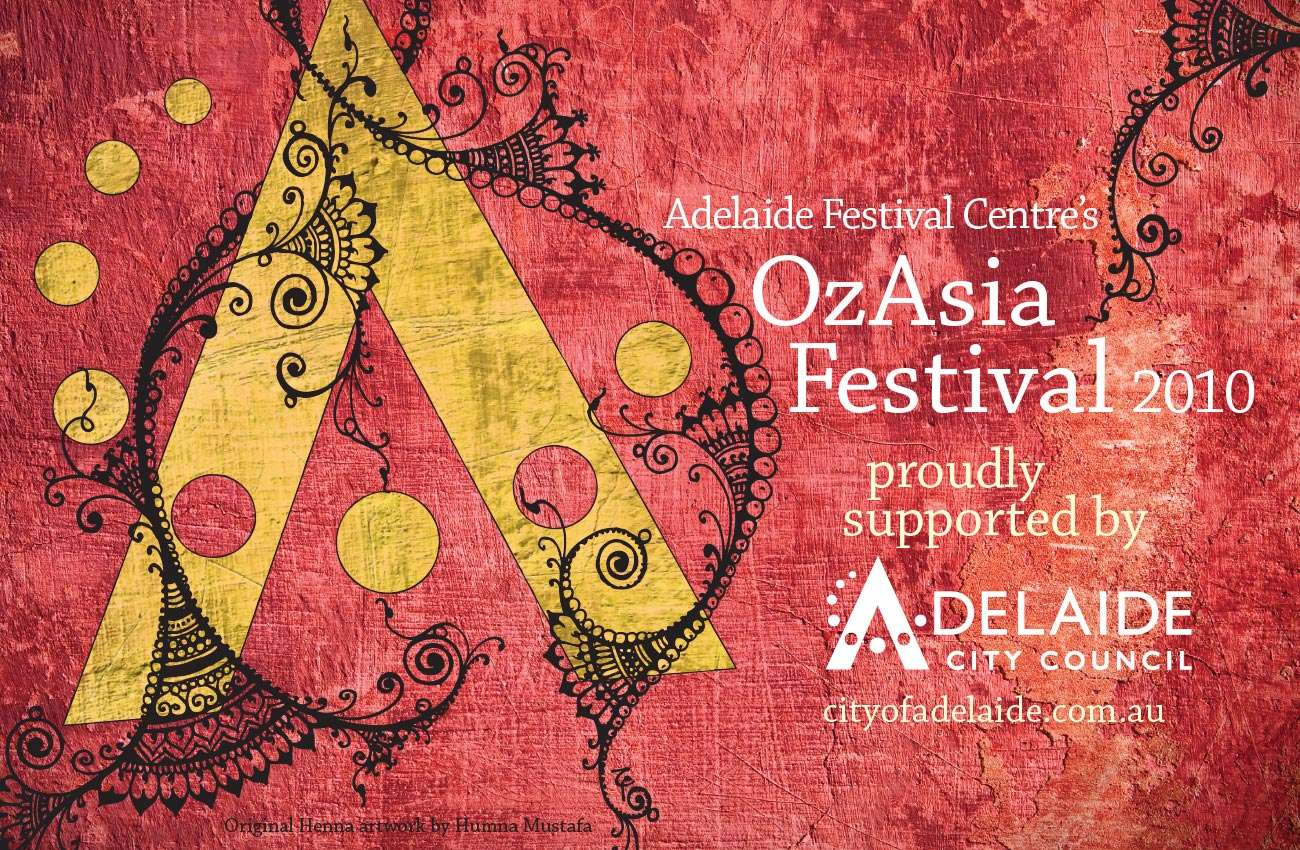 OzAsia advert design by Flux Visual Communication