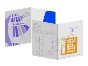UniSA folder design adelaide
