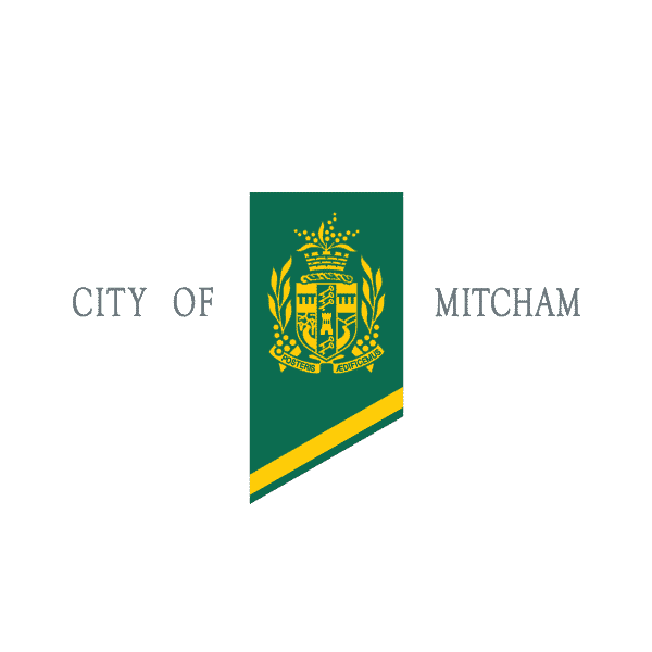 City of Mitcham council logo Adelaide