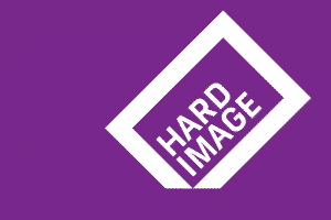 Logo design for Hard Image Photography by Flux Visual Communication, Adelaide