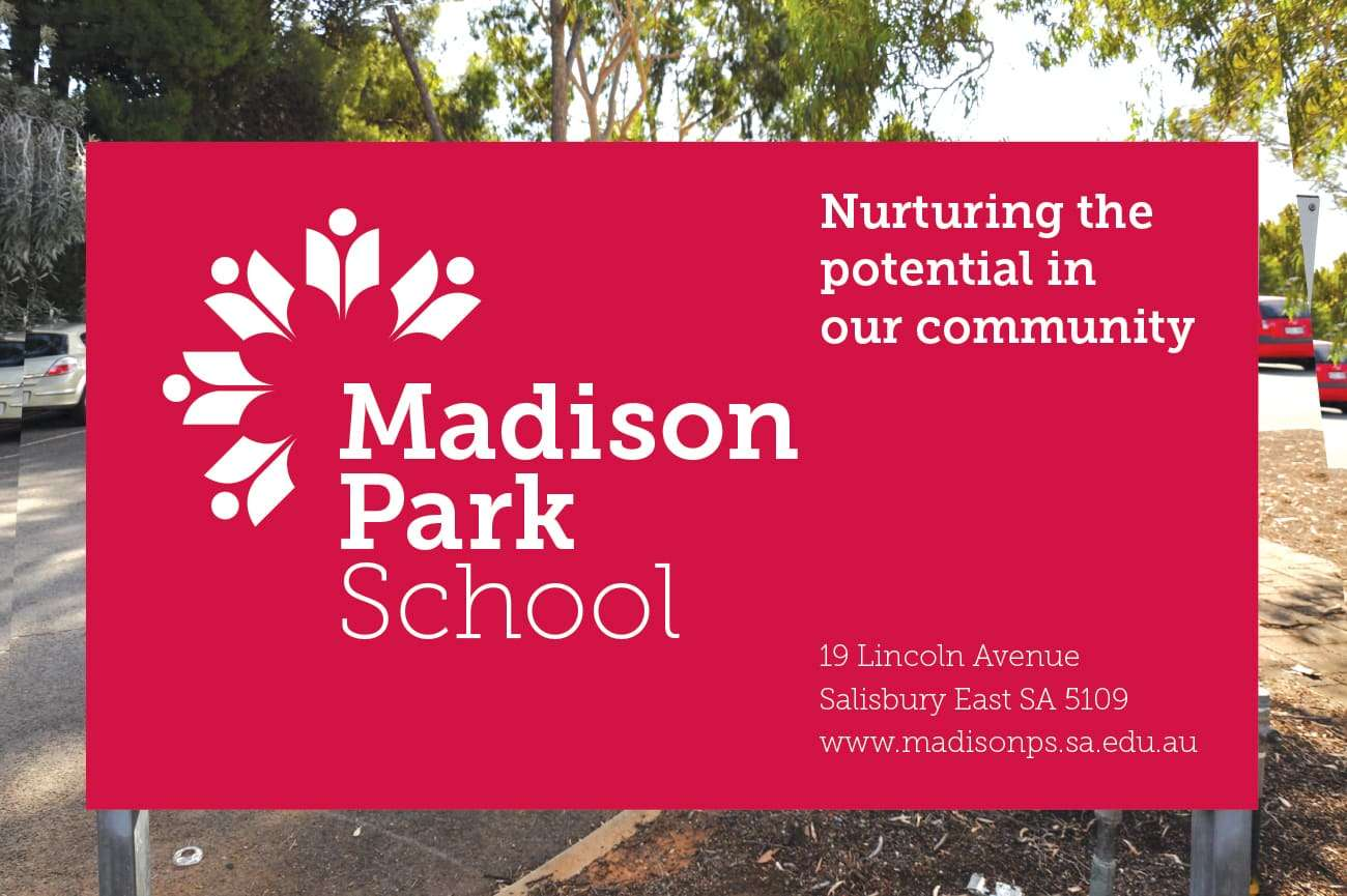 madison park sign design