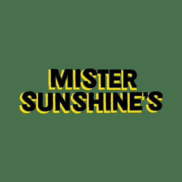 Mister Sunshines cafe logo design Adelaide