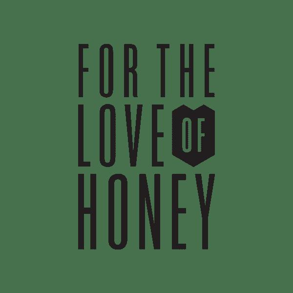 For the Love of Honey logo design Adelaide Hills