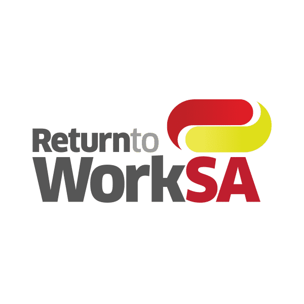 Return to work SA logo design