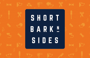 Identity for dog grooming business Short Bark N Sides by Flux Visual Communication