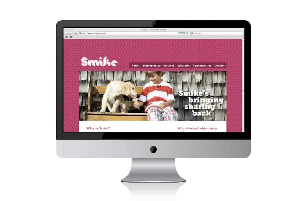 smike website design adelaide