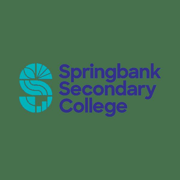 Springbank Secondary College logo design Adelaide