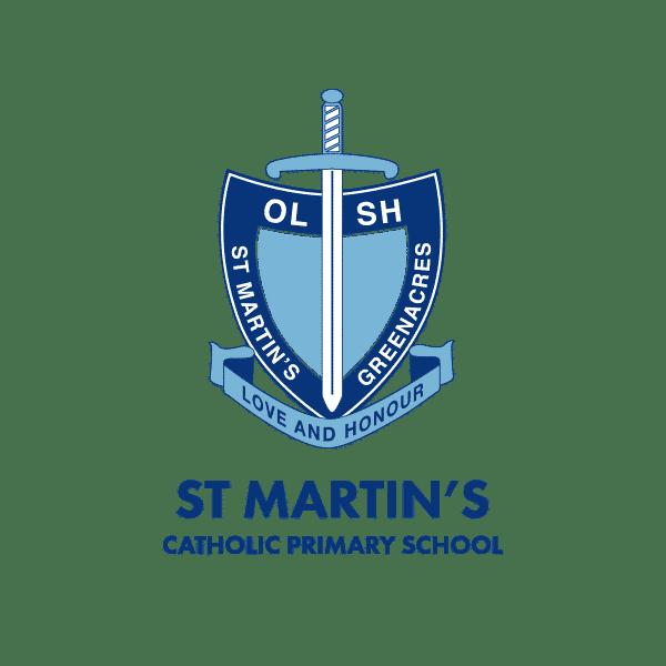 St Martins Catholic Primary School logo design Adelaide