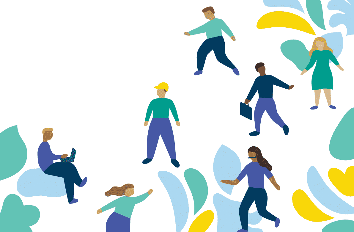 Illustration for Healthy Workplaces South Australia