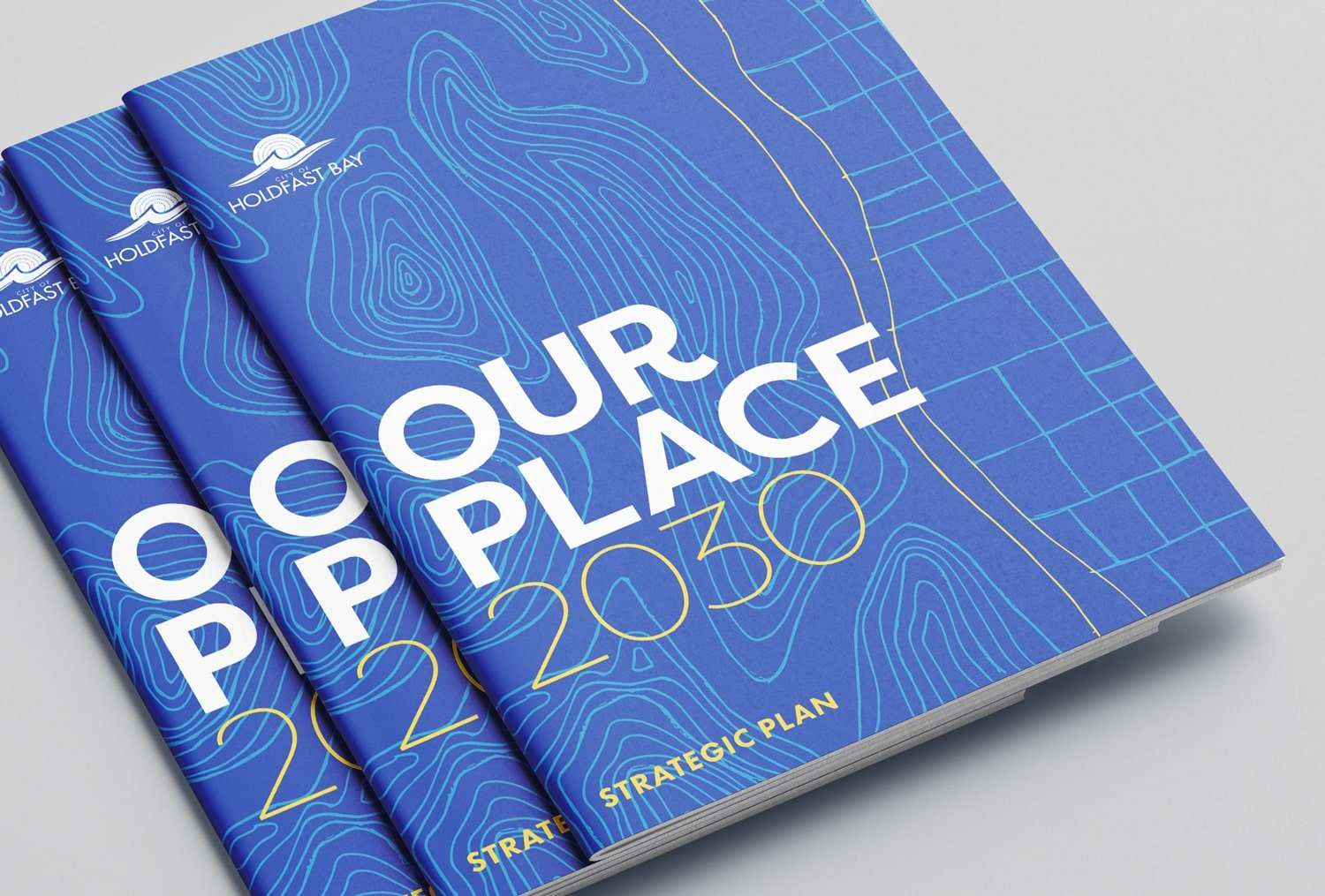 Strategic Management Plan design for City of Holdfast Bay by Flux Visual Communication, Adelaide